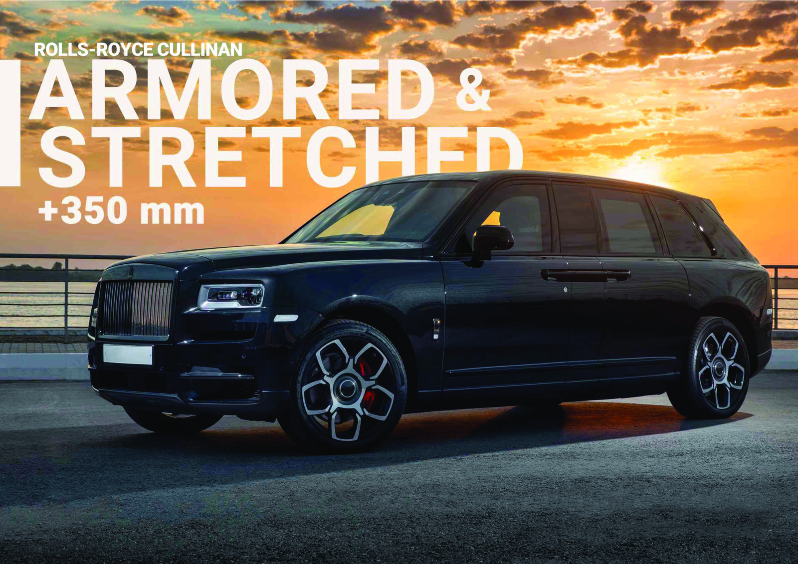 Rolls Royce Cullinan - Luxury Armored and Stretched cars