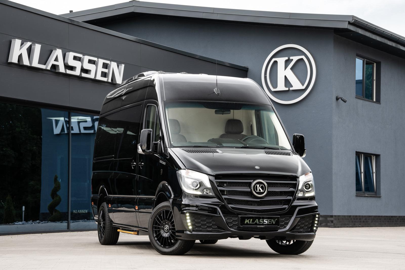 Mercedes-Benz Sprinter 319 Business Luxury VIP JetVan 4+1+1