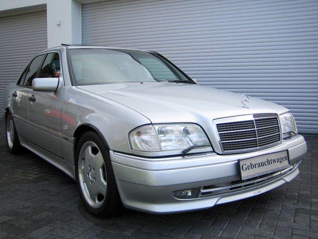 Mercedes-Benz C36 AMG 1.HAND+UNFALLFREI+SCHECKHEFT!C-DATA 2+