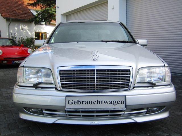 Mercedes-Benz C36 AMG 1.HAND+UNFALLFREI+SCHECKHEFT!C-DATA 2+ (Bild 2)
