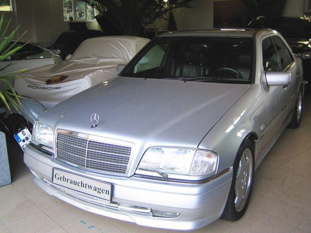 Mercedes-Benz C36 AMG 1.HAND+UNFALLFREI+SCHECKHEFT!C-DATA 2+ (Bild 4)