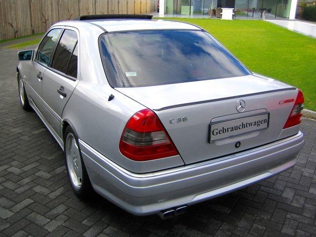 Mercedes-Benz C36 AMG 1.HAND+UNFALLFREI+SCHECKHEFT!C-DATA 2+ (Bild 6)