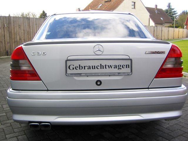 Mercedes-Benz C36 AMG 1.HAND+UNFALLFREI+SCHECKHEFT!C-DATA 2+ (Bild 7)