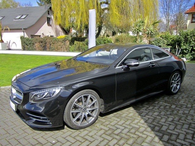 Mercedes-Benz S 450 4Matic Coupe AMG Facelift Neues Modell (Bild 3)