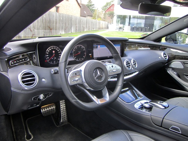 Mercedes-Benz S 450 4Matic Coupe AMG Facelift Neues Modell (Bild 15)