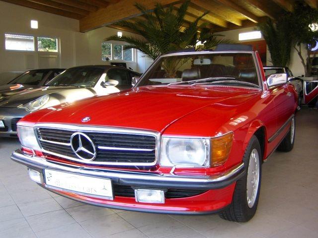 Mercedes-Benz 500 SL R107 VERKAUFT SOLD!  CLASSIC DATA 2+! (Bild 2)