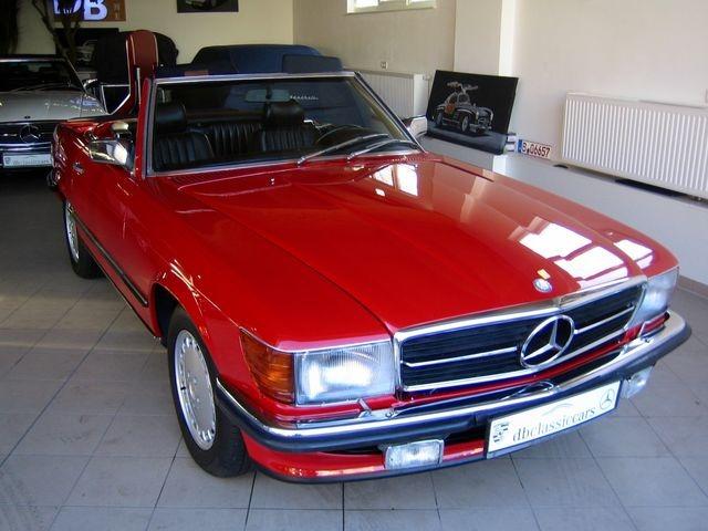Mercedes-Benz 500 SL R107 VERKAUFT SOLD!  CLASSIC DATA 2+!