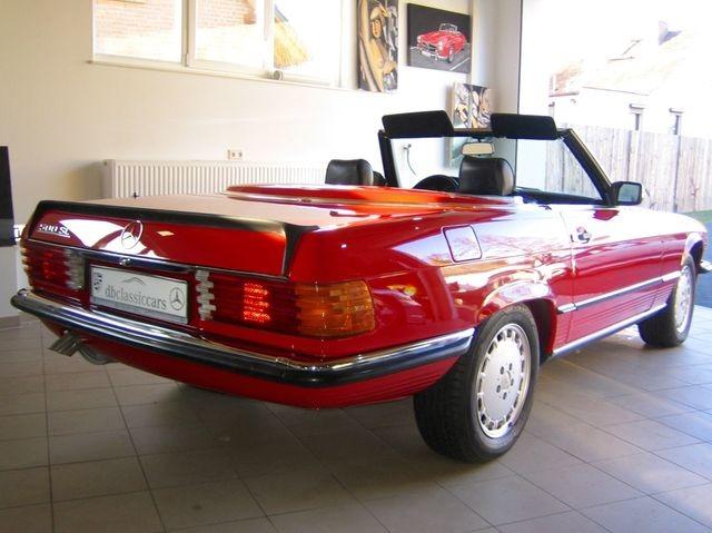 Mercedes-Benz 500 SL R107 VERKAUFT SOLD!  CLASSIC DATA 2+! (Bild 5)