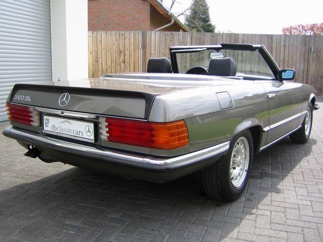 Mercedes-Benz SL 500 / 500SL R107 1.HAND! VERKAUFT SOLD (Bild 5)