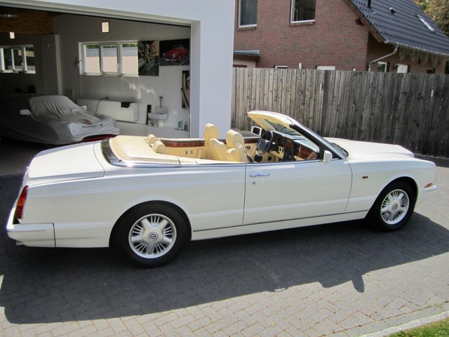 Bentley Azure Deutsche EZ! Unfallfrei+Scheckheft! CD2+ (Bild 8)