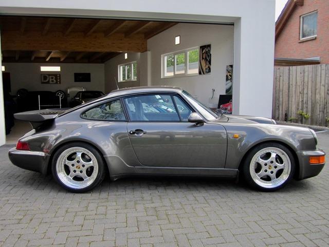 Porsche 964 / 911 TURBO SPEEDLINE SCHECKHEFT+UNFALLFREI! (Bild 7)