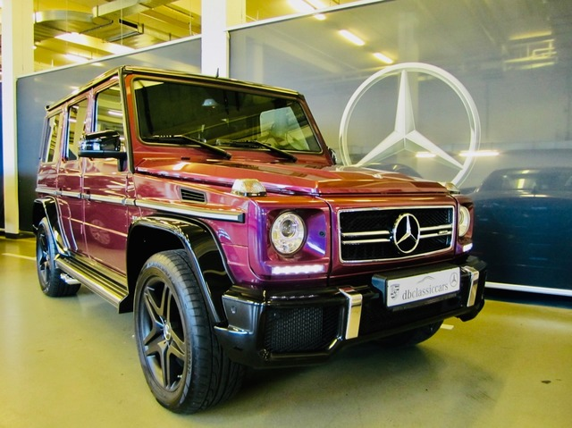 Mercedes-Benz G 63 AMG DESIGNO CRAZY COLOR EDITION! VERKAUFT !