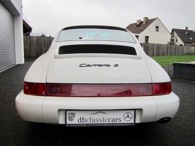 Porsche 964 911 Carrera 2 Coupe 1.HAND+UNFALLFREI! CD 2+ (Bild 5)