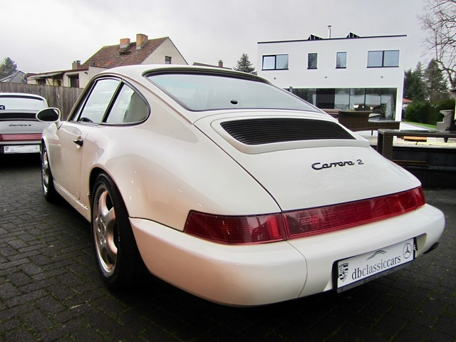 Porsche 964 911 Carrera 2 Coupe 1.HAND+UNFALLFREI! CD 2+ (Bild 4)