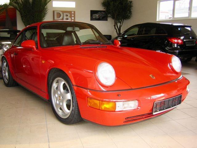 Porsche 964 911 Carrera 2 1.HAND+SCHECKHEFT+UNFALLFREI!