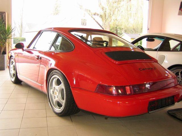 Porsche 964 911 Carrera 2 1.HAND+SCHECKHEFT+UNFALLFREI! (Bild 4)