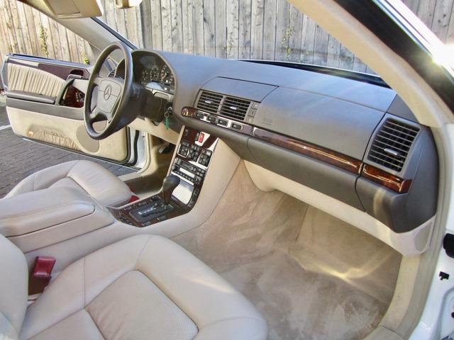 Mercedes-Benz S 500 / 500 SEC COUPE SAMMLERZUSTAND org.69745km (Bild 16)