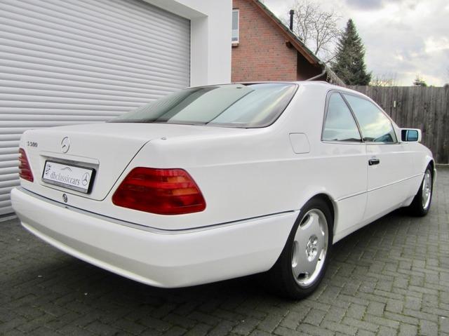 Mercedes-Benz S 500 / 500 SEC COUPE SAMMLERZUSTAND org.69745km (Bild 9)