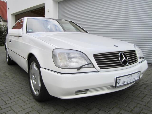 Mercedes-Benz S 500 / 500 SEC COUPE SAMMLERZUSTAND org.69745km