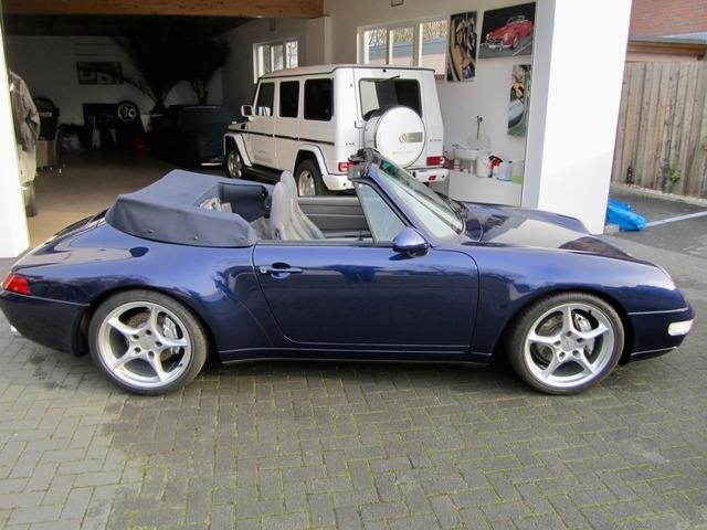 Porsche 993 911 C4 CABRIO UNFALLFREI+SCHECKHEFT! CD 2! (Bild 3)