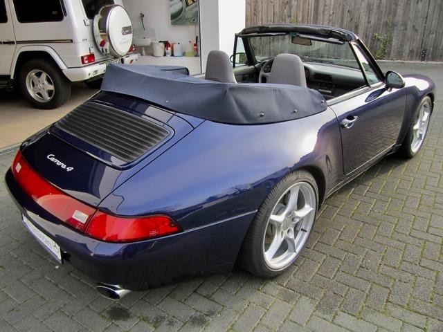 Porsche 993 911 C4 CABRIO UNFALLFREI+SCHECKHEFT! CD 2! (Bild 4)