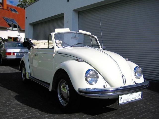 Volkswagen Käfer 1500 Cabrio ORIGINAL FRAME OFF RESTAURIERT