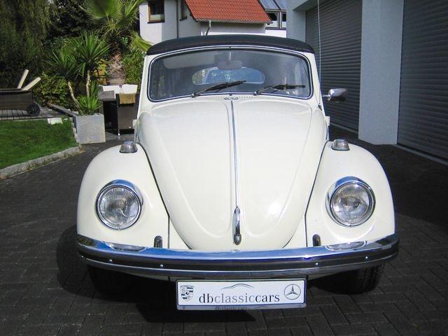 Volkswagen Käfer 1500 Cabrio ORIGINAL FRAME OFF RESTAURIERT (Bild 22)