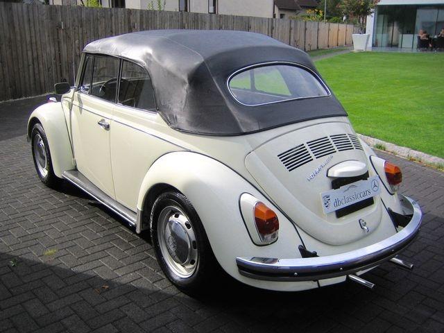 Volkswagen Käfer 1500 Cabrio ORIGINAL FRAME OFF RESTAURIERT (Bild 24)