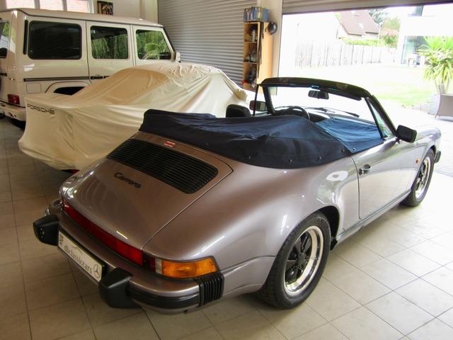 Porsche 911 3.2 CABRIO UNFALLFREI+SCHECKHEFT VERKAUFT ! (Bild 28)