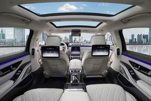 Mercedes-Benz S-Class S 500 L 4Matic AMG+Pano+360+Beige+Leder