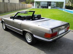 Mercedes-Benz SL 500 / 500SL R107 1.HAND! VERKAUFT SOLD (Bild 4)
