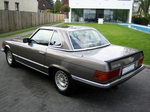 Mercedes-Benz SL 500 / 500SL R107 1.HAND! VERKAUFT SOLD (Bild 7)