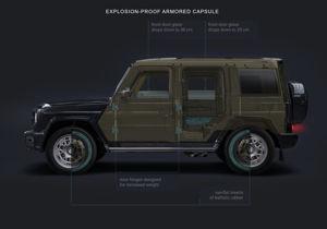 Mercedes-Benz G-Class G 63 AMG Armored VR 8 / KLASSEN BUNKER