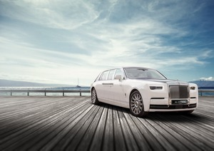 Rolls Royce Phantom This Stretched, Armored Car, Bulletproof