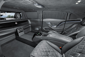 Mercedes-Benz MAYBACH S 650 State Limousine Armored VIP Car