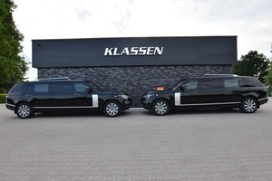Rolls Royce Cullinan Armored and Stretched cars +1016mm