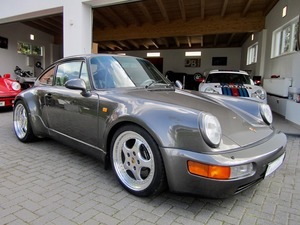 Porsche 964 / 911 TURBO SPEEDLINE SCHECKHEFT+UNFALLFREI! (Bild 1)