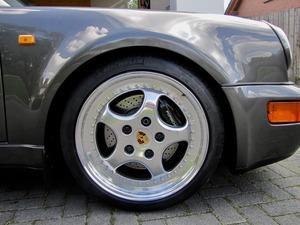 Porsche 964 / 911 TURBO SPEEDLINE SCHECKHEFT+UNFALLFREI! (Bild 8)