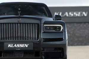 Rolls Royce Cullinan Armored and Stretched cars +350mm