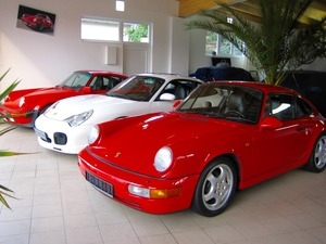 Porsche 964 911 Carrera 2 1.HAND+SCHECKHEFT+UNFALLFREI! (Bild 2)