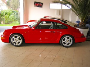 Porsche 964 911 Carrera 2 1.HAND+SCHECKHEFT+UNFALLFREI! (Bild 5)