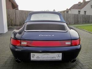 Porsche 993 911 C4 CABRIO UNFALLFREI+SCHECKHEFT! CD 2! (Bild 9)