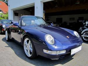 Porsche 993 911 C4 CABRIO UNFALLFREI+SCHECKHEFT! CD 2! (Bild 1)