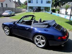 Porsche 993 911 C4 CABRIO UNFALLFREI+SCHECKHEFT! CD 2! (Bild 5)