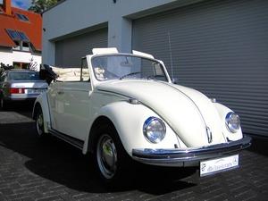 Volkswagen Käfer 1500 Cabrio ORIGINAL FRAME OFF RESTAURIERT (Bild 1)