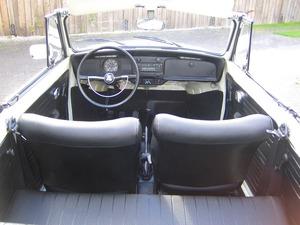 Volkswagen Käfer 1500 Cabrio ORIGINAL FRAME OFF RESTAURIERT (Bild 8)