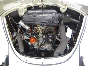 Volkswagen Käfer 1500 Cabrio ORIGINAL FRAME OFF RESTAURIERT (Bild 17)