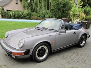 Porsche 911 3.2 CABRIO UNFALLFREI+SCHECKHEFT VERKAUFT ! (Bild 5)